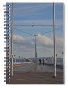 Torquay Pier Devon Spiral Notebook