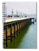 Torquay Princess Pier Devon Spiral Notebook