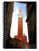 Torre Del Mangia Siena Spiral Notebook