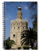 Torre Del Oro Spiral Notebook