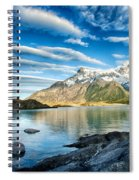 Torres Del Paine Park Spiral Notebook