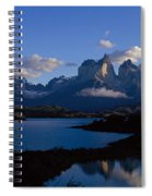 Torres Del Paine, Patagonia, Chile Spiral Notebook