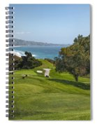 Torrey Pines Golf Course North 6th Hole Spiral Notebook