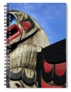 Totem Pole 2 Spiral Notebook