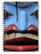 Totem Pole 4 Spiral Notebook