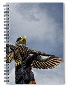 Totem Pole Spiral Notebook