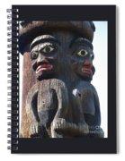 Totem Twins Spiral Notebook