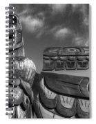 Totems 2 Spiral Notebook
