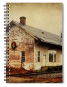 Touch Of Christmas Cheer Spiral Notebook