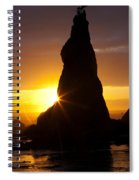 Touch Of Hope Spiral Notebook