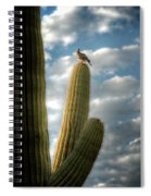Touch The Sky  Spiral Notebook