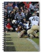 Touchdown Navy Spiral Notebook