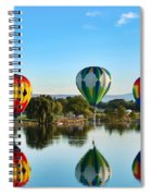 Touching Down Spiral Notebook