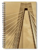 Touching The Sky Spiral Notebook