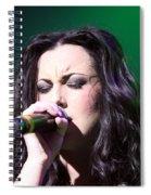 Touching Vocals Spiral Notebook