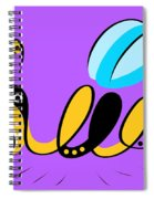 Thoughts And Colors Series Bee Spiral Notebook