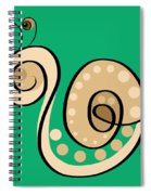Thoughts And Colors Series Snail Spiral Notebook