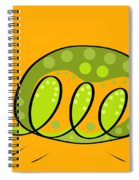 Thoughts And Colors Series Turtle Spiral Notebook