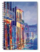 Toulouse At Bourbon New Orleans Spiral Notebook