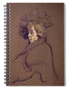 Toulouse-lautrec J Spiral Notebook