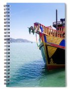 Tour Boat Spiral Notebook
