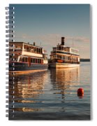 Tour Boats Lake Geneva Wi Spiral Notebook