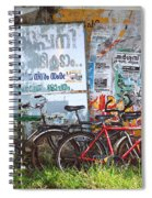 Tour De India Spiral Notebook