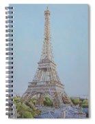 Tour Eiffel 3 Spiral Notebook