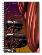 Tour Pods Spiral Notebook