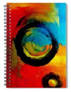 Touring A Parallel Universe Spiral Notebook