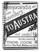 Tourism Australasia, 1889 Spiral Notebook