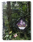 Tourist Doing Photography And Viewing Plants In A Garden Spiral Notebook
