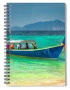 Tourist Longboat Spiral Notebook