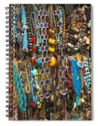 Tourist Souvenirs In Jersualem Israel Spiral Notebook