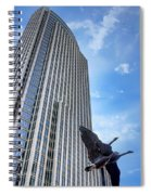 Tower And Geese Spiral Notebook