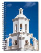 Tower At Mission San Xavier Del Bac Spiral Notebook