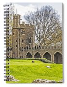 Tower Bridge And London Tower Spiral Notebook