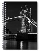 Tower Bridge Evening Spiral Notebook