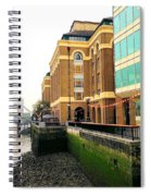 Tower Bridge Seen From The South Bank Spiral Notebook