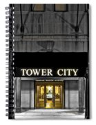 Tower City In Cleveland Ohio Spiral Notebook