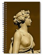 Tower Hill Garden Goddess Spiral Notebook