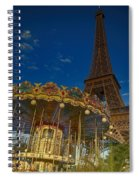 Carousel Tower Spiral Notebook