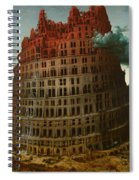 Tower Of Bable Spiral Notebook