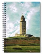 Tower Of Hercules La Coruna Spiral Notebook