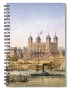 Tower Of London, 1862 Spiral Notebook