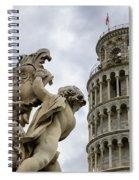 Tower Of Pisa Spiral Notebook