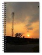 Tower Of Power Spiral Notebook