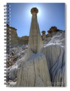 Tower Of Silence Spiral Notebook
