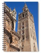 Tower Of The Seville Cathedral Spiral Notebook