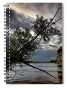 Tower Rock In The Mississippi River Spiral Notebook